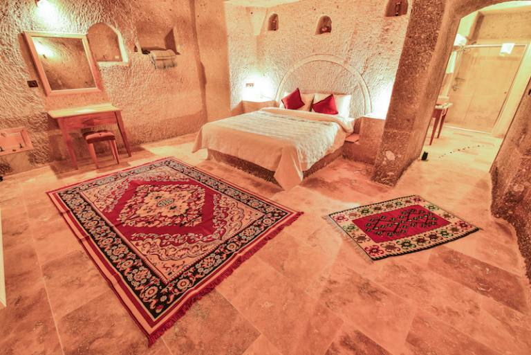 stone bed cave suite